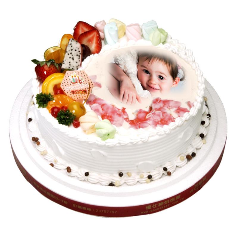 客製化相片蛋糕系統